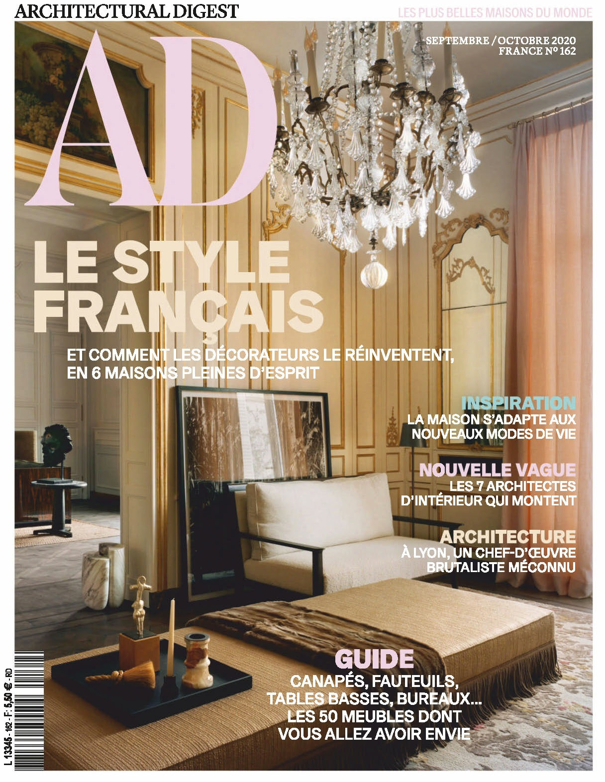 Ad france september 2020 cover