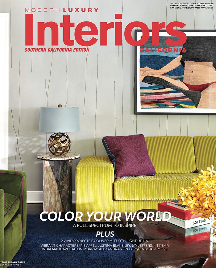 Modern luxury interiors california cover